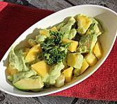 Apfel-Mango-Avocado Salat (Bild)