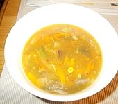 Sauer-scharfe-Suppe