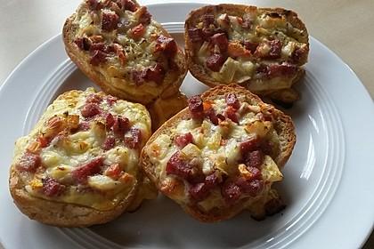 Pizza - Brötchen
