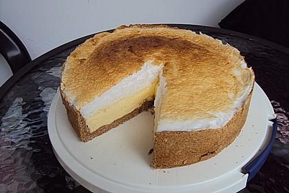 Diät - Quarkkuchen,  mit Eierschneedecke für Springform 2