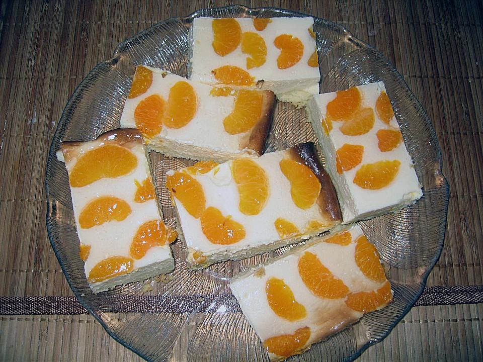 quark mandarinen blechkuchen rezept mit bild. Black Bedroom Furniture Sets. Home Design Ideas