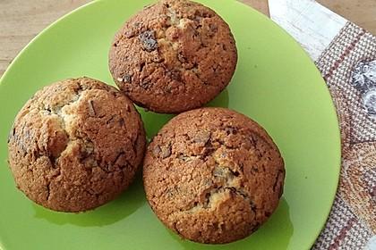 Mandel - Schoko - Muffins 4
