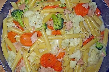 Nudel - Gemüse - Pfanne 18