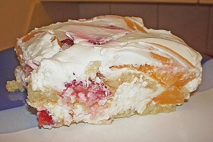 Erdbeer-Pfirsich Tiramisu 5