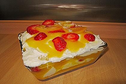 Erdbeer-Pfirsich Tiramisu 2