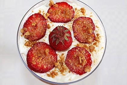Erdbeer-Pfirsich Tiramisu 0