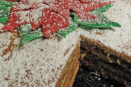 Baumkuchen mit Marzipanfüllung 3