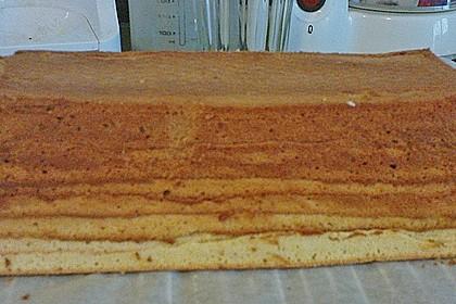 Baumkuchen mit Marzipanfüllung 4