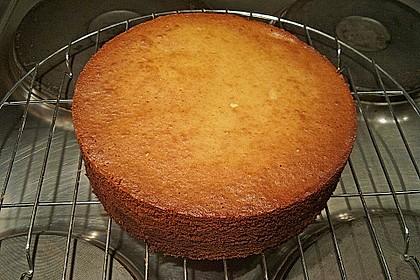 Baumkuchen mit Marzipanfüllung 2