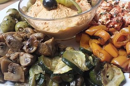 Fetacreme mit Paprika und Kräutern 5