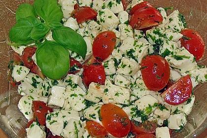 Mozzarella - Tomaten - Salat 1