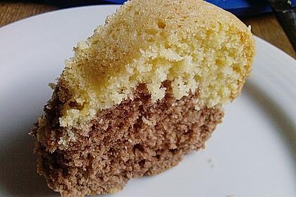 Kalorienarmer Marmorkuchen 2