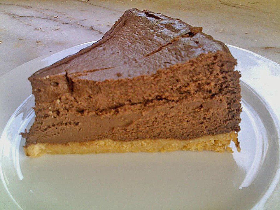 Schokoladen k se kuchen mit amaretti rezept mit bild for Kuchen mit bild