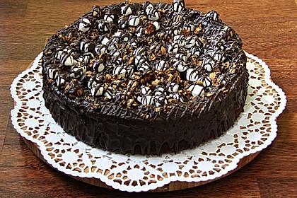 Schokoladen - Käse - Kuchen mit Amaretti 1