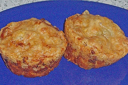 Lauch - Käse - Muffins 2
