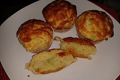 Lauch - Käse - Muffins 1