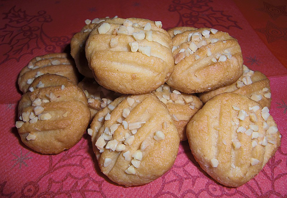 Marzipan kekse rezept