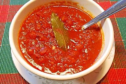 Tomatensoße für Pizza 7