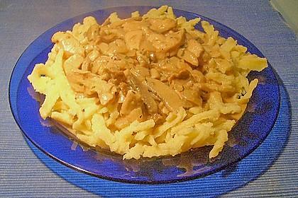 Geschnetzeltes in Pilz - Sahnesoße 5