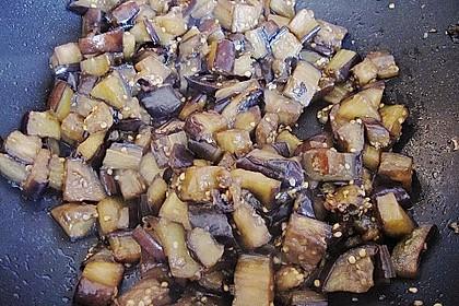 Süße Auberginen mit Knoblauch 5
