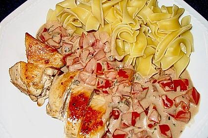 Hähnchenbrust mit Balsamico - Sauce 20