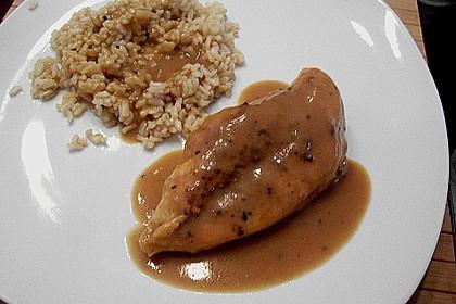 Hähnchenbrust mit Balsamico - Sauce 12