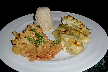 Hähnchenbrust mit Balsamico - Sauce 9