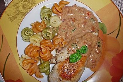 Hähnchenbrust mit Balsamico - Sauce 24