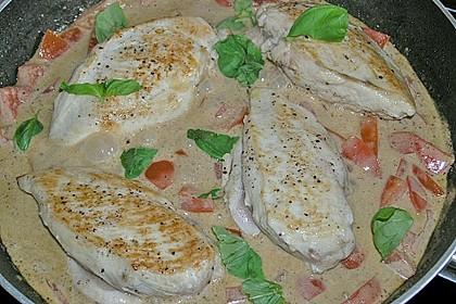 Hähnchenbrust mit Balsamico - Sauce 8
