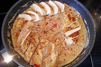 Hähnchenbrust mit Balsamico - Sauce 15