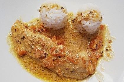Hähnchenbrust mit Balsamico - Sauce 25