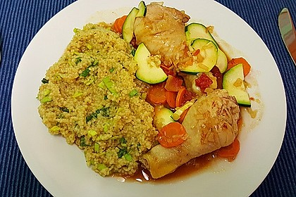 Moroccan chicken with zesty couscous 3