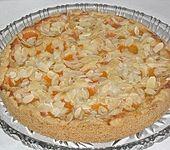 Aprikosenkuchen mit Mandelguss (Bild)