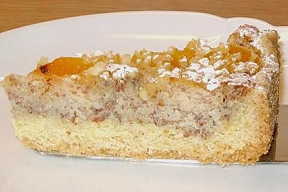 Aprikosenkuchen mit Mandelguss 10