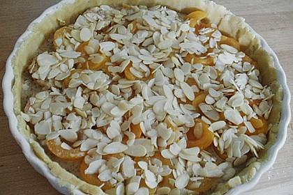 Aprikosenkuchen mit Mandelguss 17