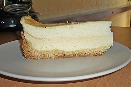 Käsekuchen mit 2 Schichten 55