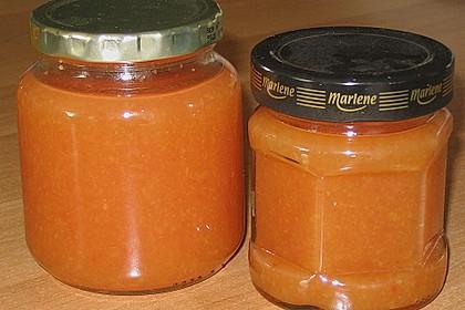 Pfirsich - Melonen - Marmelade 4