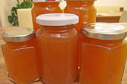 Pfirsich - Melonen - Marmelade 6