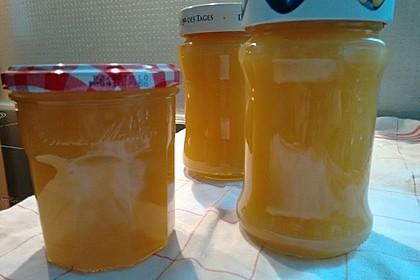 Pfirsich - Melonen - Marmelade 1