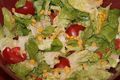 Einfacher gemischter Salat (Bild)