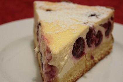 Quark-Kirsch-Kuchen (Bild)