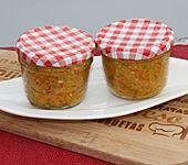 Eingekochte Chilipaste aus geräucherten Chilischoten (Bild)