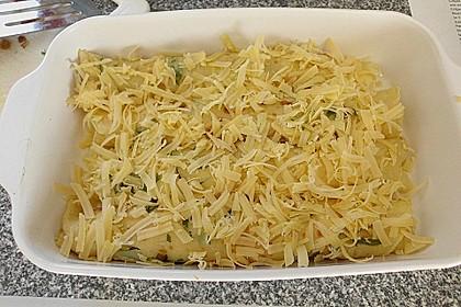 Gebratener Spargel mit Honig und Ziegenfrischkäse - Crêpes 6