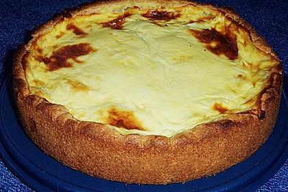 Apfelkuchen mit Puddingguss 7