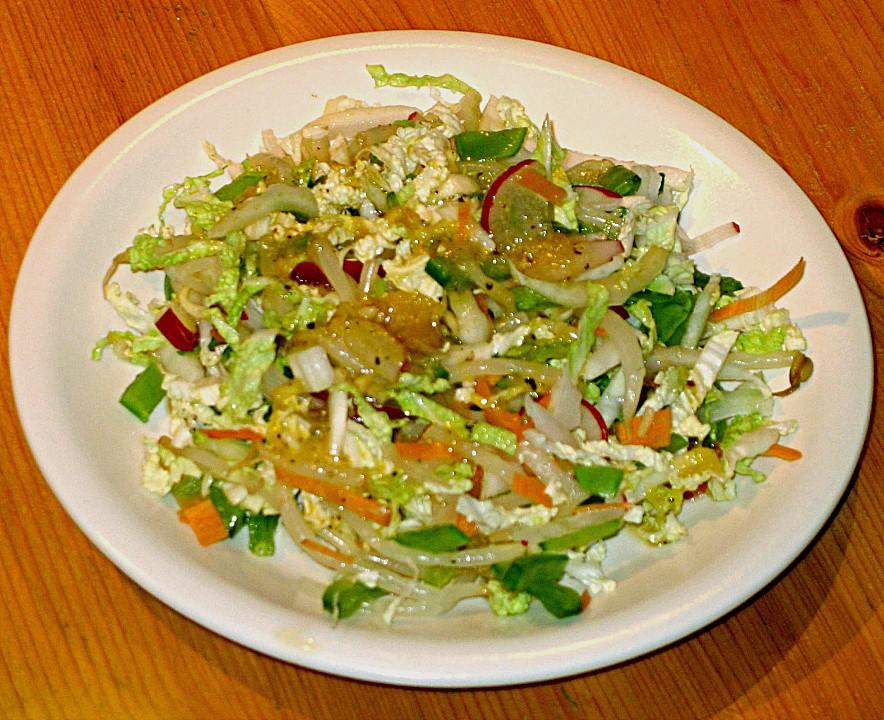 Rezepte fur asiatische salate