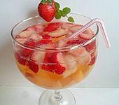 Ananas - Pfirsich - Erdbeer - Bowle
