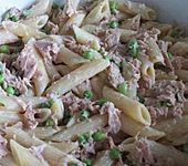 Leichter Nudelsalat mit Thunfisch
