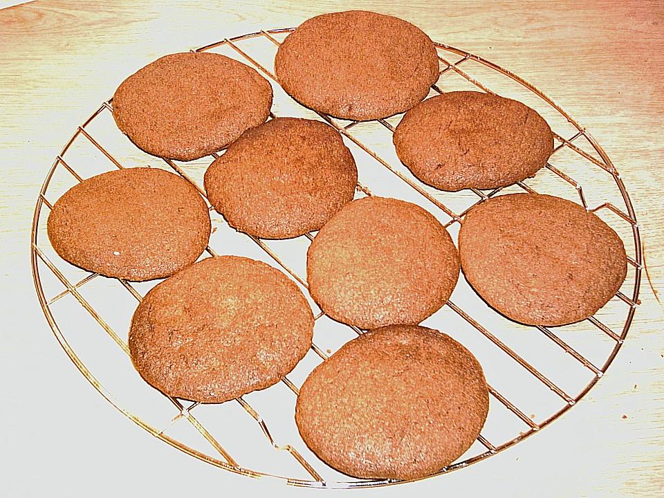 schoko cookies rezept mit bild von cookingstephi. Black Bedroom Furniture Sets. Home Design Ideas