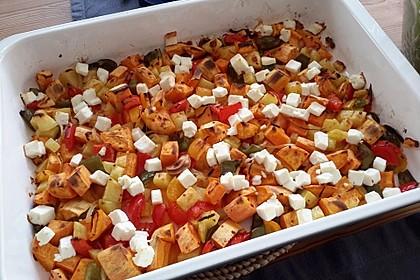 Süßkartoffel - Auflauf 6