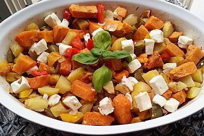 Süßkartoffel - Auflauf 3